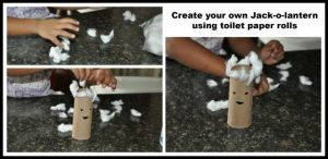 Houston Commercial Cleaning Services Halloween Toilet Tissue Craft
