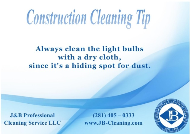 Houston Construction Cleaning Service