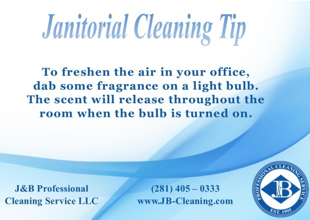 Janitorial Cleaning Tip Houston